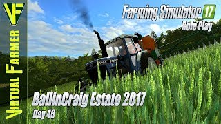 Giving the Crops a Boost | BallinCraig Estate 2017, Day 46: Farming Simulator 17 RolePlay