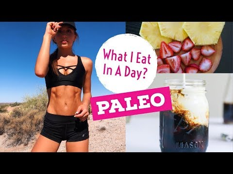PALEO WHAT I EAT IN A DAY (Vlog) Honest Health Update // TessaRenéeTR