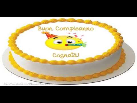 Tanti Auguri di Buon Compleanno Cognata!   YouTube
