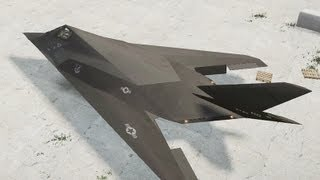 GTA 4 F-117 Nighthawk (Battlefield 2)