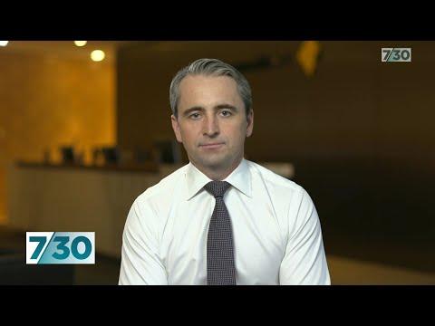 Commonwealth Bank CEO Matt Comyn on the coronavirus related financial stress | 7.30