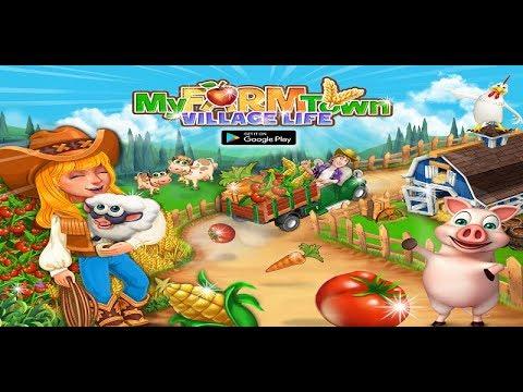 My Farm Town Village Life Top Farm Offline Game