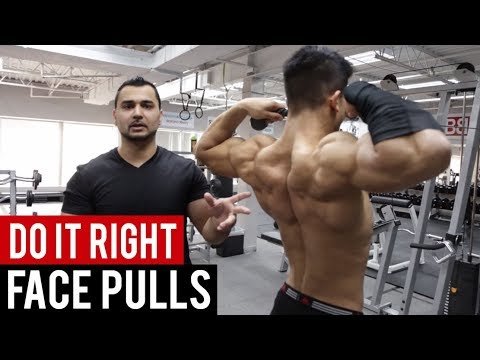 FIX YOUR FACE PULL FORM NOW! How to PROPERLY Face Pull for Muscle ...