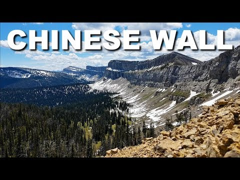 Chinese Wall - Bob Marshall Wilderness, Montana