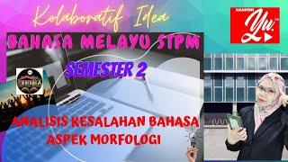 Analisis Kesalahan Bahasa Bahasa Melayu STPM