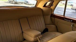 1962 Rolls Royce interior restoration in Los Angeles