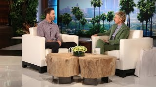 Jimmie Johnson Catches Up with Ellen
