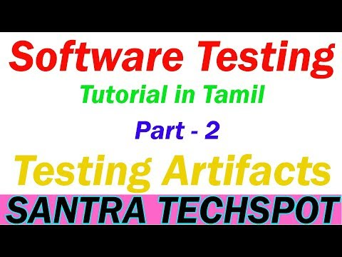 #2   Testing Artifacts   Test Cases   Scenario   Specification   Software Testing Tutorial in Tamil thumbnail