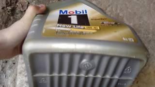 Подделка масла Mobil 0w-40.