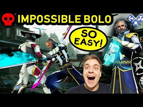 Shadow Fight 3 Chapter 7. How to Defeat Bolo on Impossible! The Easiest Boss Ever!