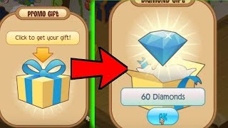NEW 60 DIAMOND CΟDE ON ANIMAL JAM!?!