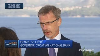 Croatia won't become like Ireland or Greece, central bank chief says | Squawk Box Europe