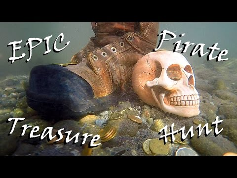 Epic Pirate Treasure Hunt 2015