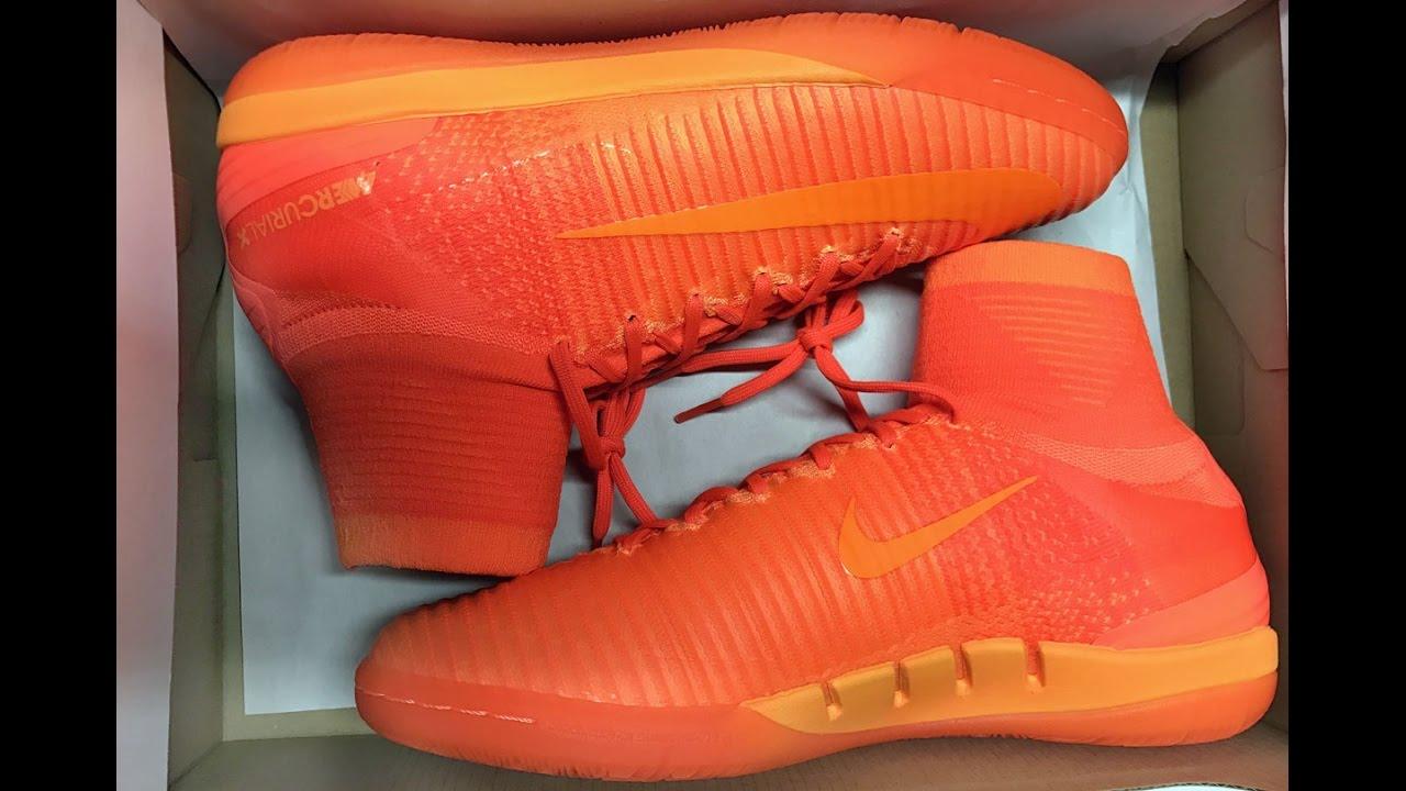 2a1d51bf0c57 Nike Mercurial X Proximo II IC total orange - YouTube