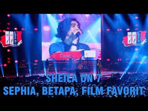Sheila on 7  Sephia, Betapa dan Film Favorit di Clear Ayo Indonesia Bisa