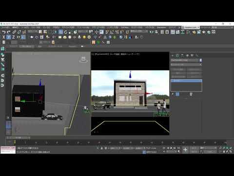 3ds Max × ビジュアライゼーション 第6回:フィジカルカメラとV-Rayカメラ 1