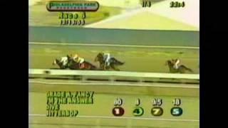 Grade A Fancy Philadelphia race track jockey rigoberto sepulveda (2005)