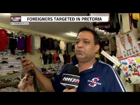 Foreign owned shops looted in Pretoria