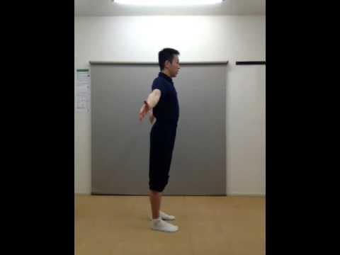 肩こり解消、猫背改善に!肩甲骨まわり血流改善ストレッチ体操