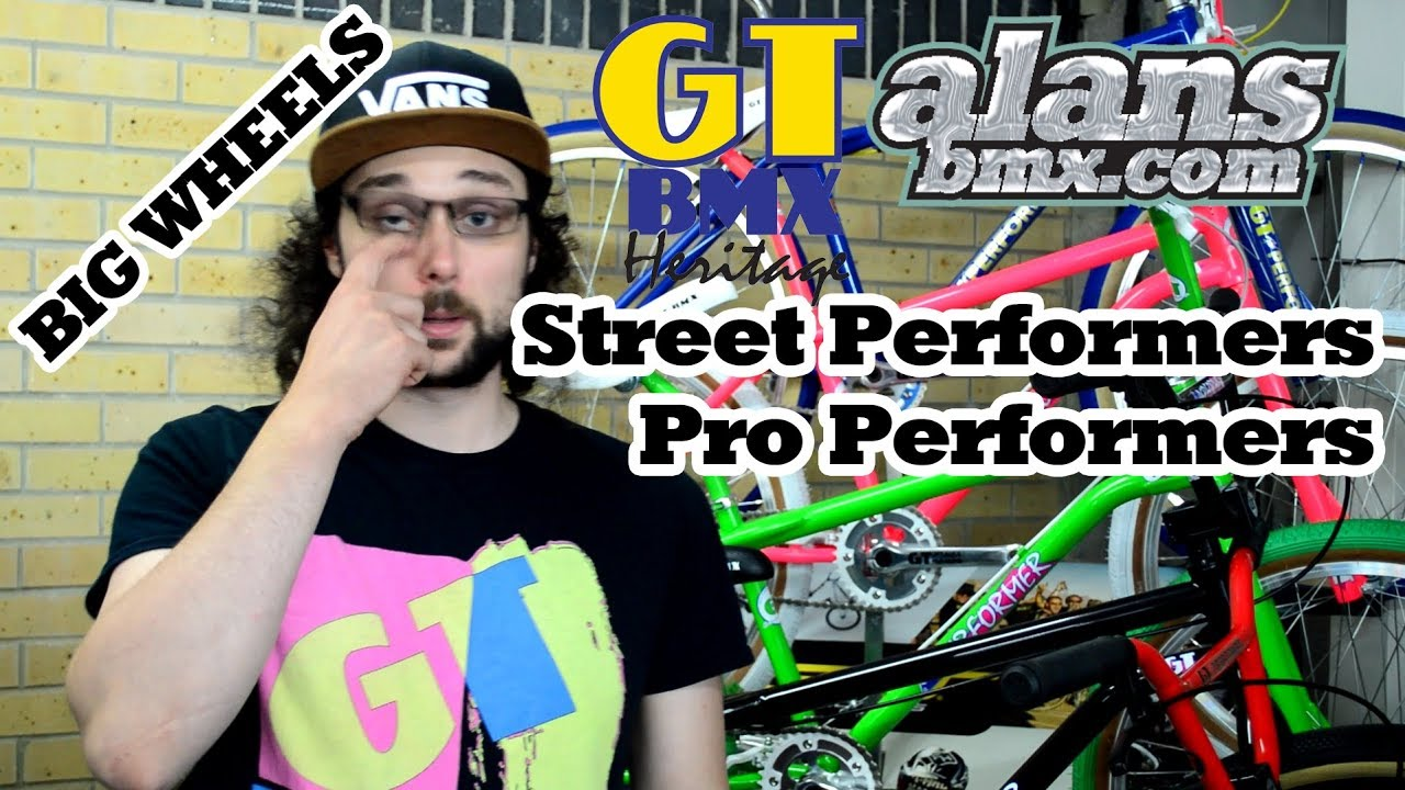 AlansBMX - 2019 GT Cruisers Street Performers and Pro Performers