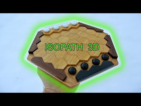 Hexagonal Iso-Path: board creation and game play