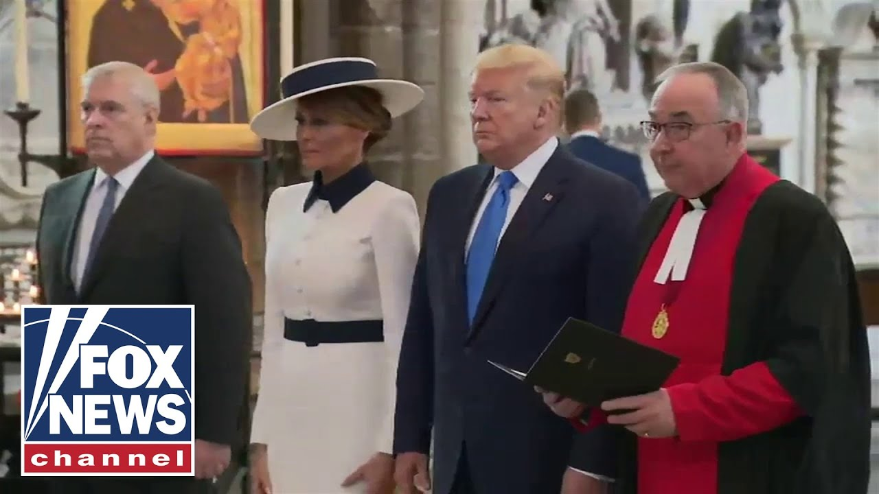 FOX News - President Trump, First Lady tour Westminster Abbey
