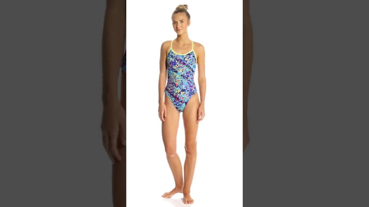 2bb7661906 TYR Women's Oceania Trinityfit One Piece Swimsuit | SwimOutlet.com ...