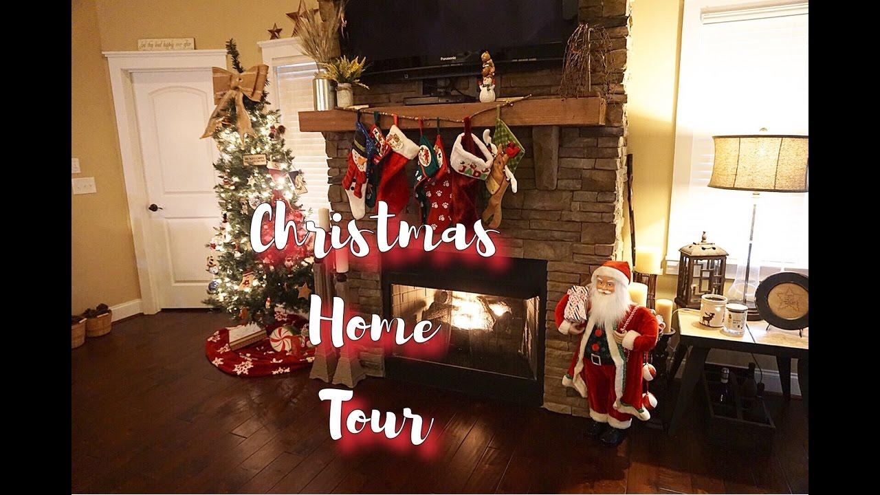 christmas home decor tour 2016 youtube