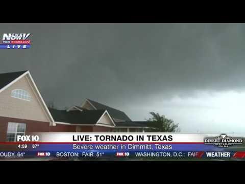 WATCH: MASSIVE Tornado Caught On Camera In Dimmitt, Texas