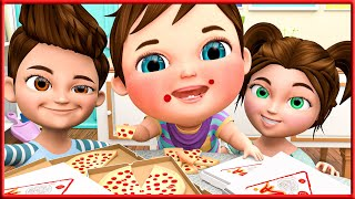 Baby Shark Song , Wheels On The Bus , ABC Songs | Most Viewed Video On YouTube | Banana Cartoons