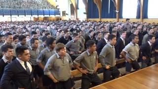 Farewell Haka for Mr. John Adams