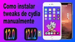 Como Instalar Tweak De Cydia Manualmente iOS 12- 12.1.2 No Pc (RootLessJB)