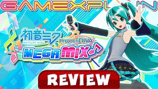 Hatsune Miku: Project DIVA Mega Mix - REVIEW (Nintendo Switch) (Video Game Video Review)