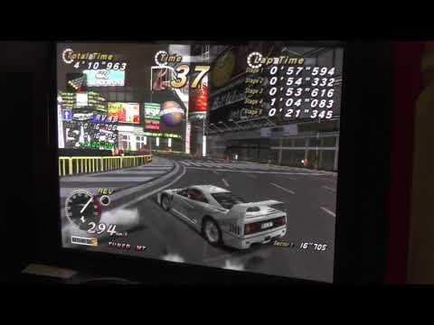 "OutRun 2 SP Time Attack T/MT new 5E RVI-KT 36""674"