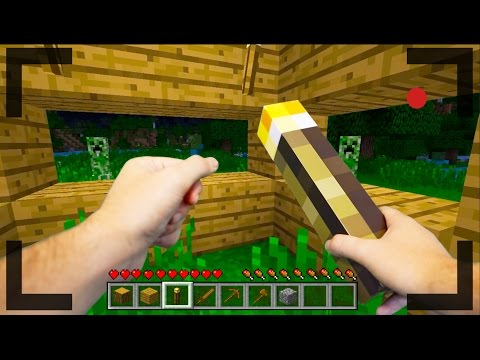 Thumbnail: Realistic Minecraft - OUR FIRST DAY IN MINECRAFT #1