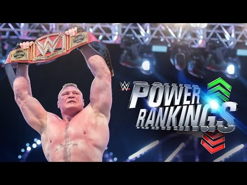 Thumbnail: Did Brock Lesnar conquer WWE's Power Rankings?: April 20, 2017