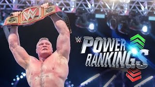 Did Brock Lesnar conquer WWE's Power Rankings?: April 20, 2017