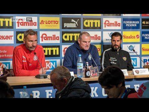 33. Spieltag | KSV - SGD | Pressekonferenz nach dem Spiel