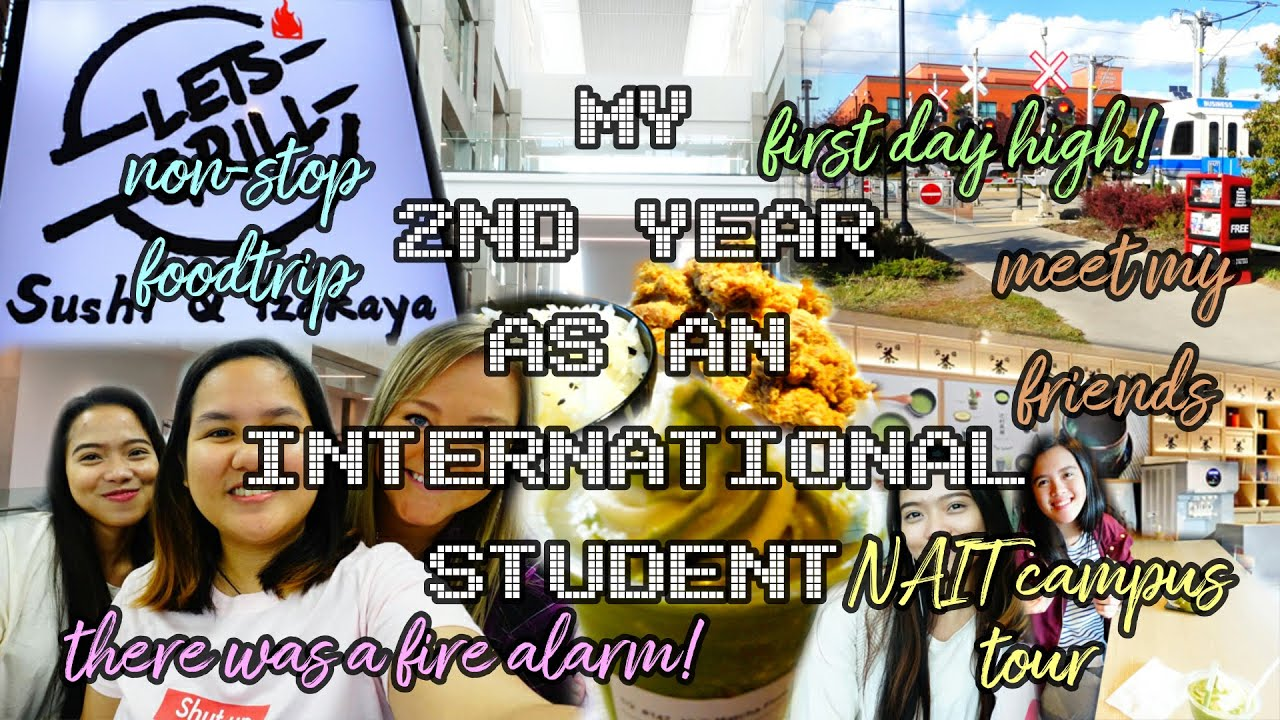 Download [ENG] MY 2ND YEAR | FALL 2018 | NAIT CAMPUS TOUR | ELI'S VLOGS