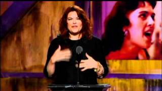 Roseanne Cash inducts Wanda Jackson Rock and Roll Hall of Fame Induction Ceremony 2009
