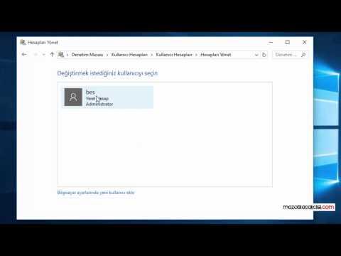 Windows 10 Kullanıcı Adı Değiştirme Nasıl Yapılır?