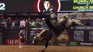 Silvano Alves rides Church Bells for 85.5 points