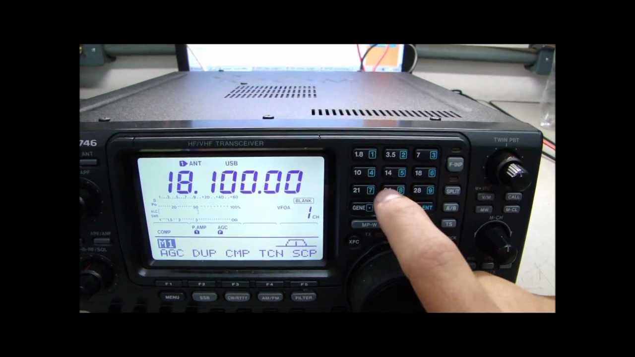 Icom IC-746 Complete revision and alignment - ALPHA TELECOM