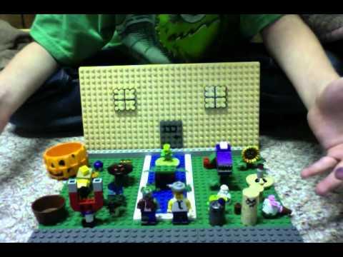 Lego Plants Vs Zombies Garden Warfare Knockoff Minifig
