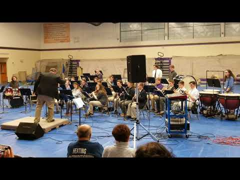 Free Ride performed by Cheverus High School concert band