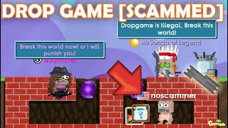 THIS IS DROPGAME TEST (SCAMMED/RIP WLS) OMG!! | GrowTopia