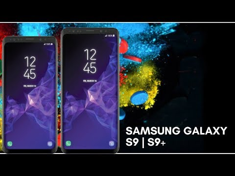 Samsung Galaxy S9 and S9+ Official Render