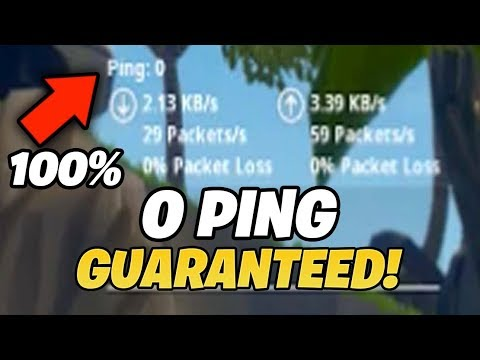 How To Get 0 Ping On Fortnite (WITH PROOF)