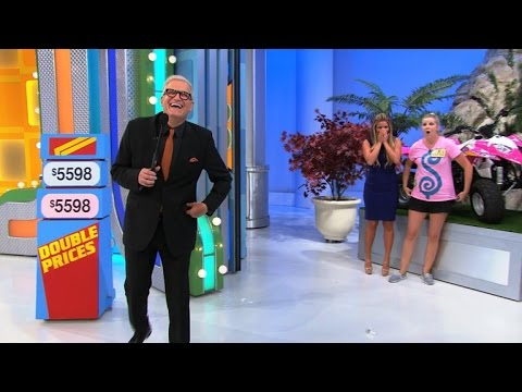 Watch This 'Price is Right' Model Trip In Her Stilettos!