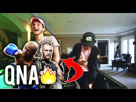 MAYWEATHER OR MCGREGOR?! - QnA ft. OpTic Hitch